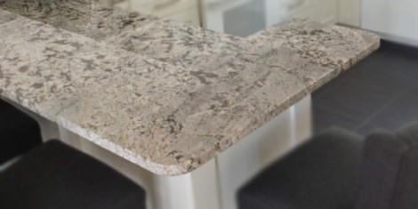 Northern Marble & Granite - Flat Eased Edge Profile