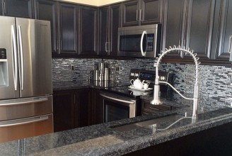 Steel Grey Granite - Ogee Edge Profile