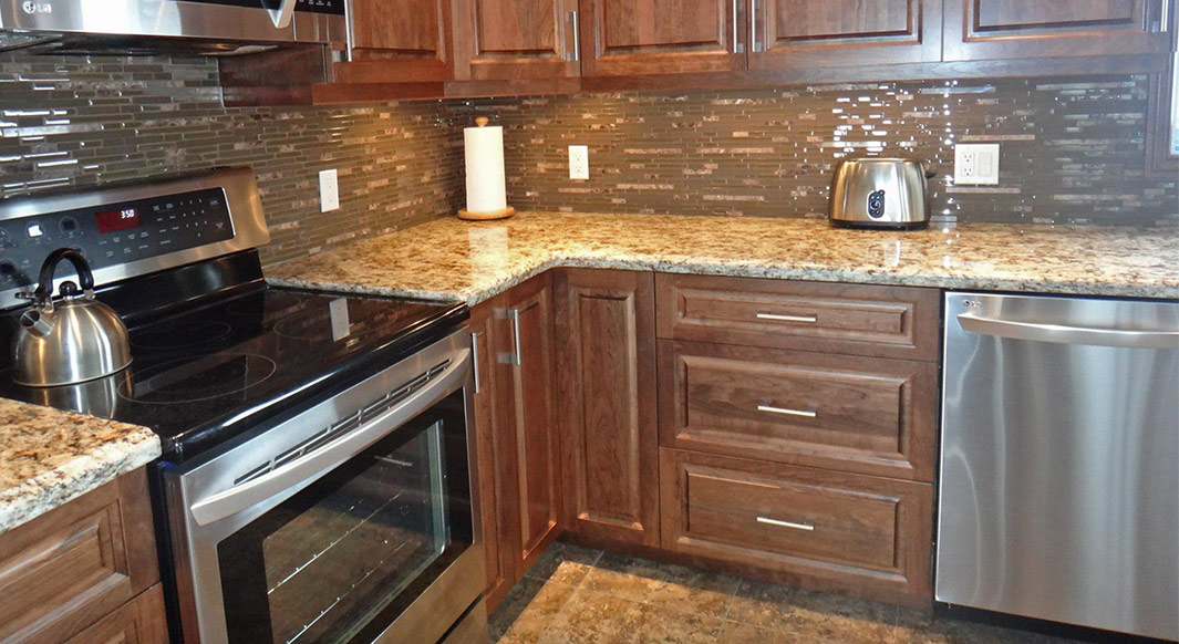 Perfect Giallo Napoli Granite   Ogee Edge Profile
