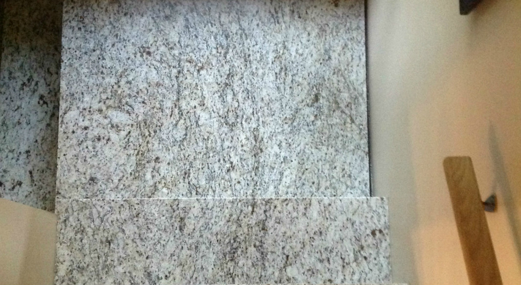 Giallo Ornamental Light Granite Stairs