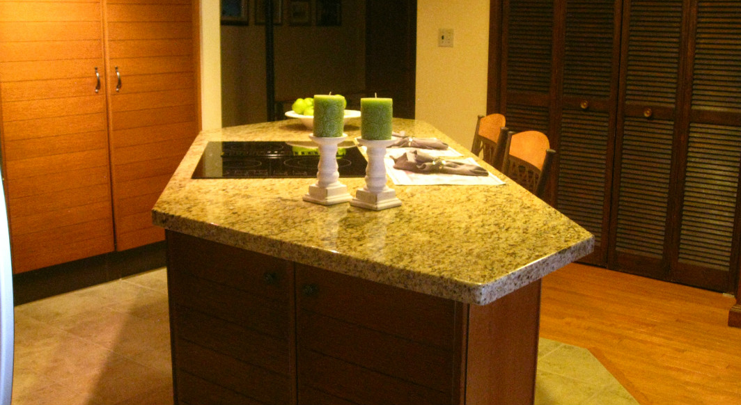Giallo Verona Granite with Radius Edge Profile