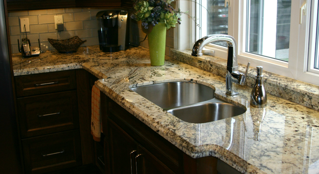 kitchen granite window sill brenner remodeling attention to detail gallery granite window. Black Bedroom Furniture Sets. Home Design Ideas