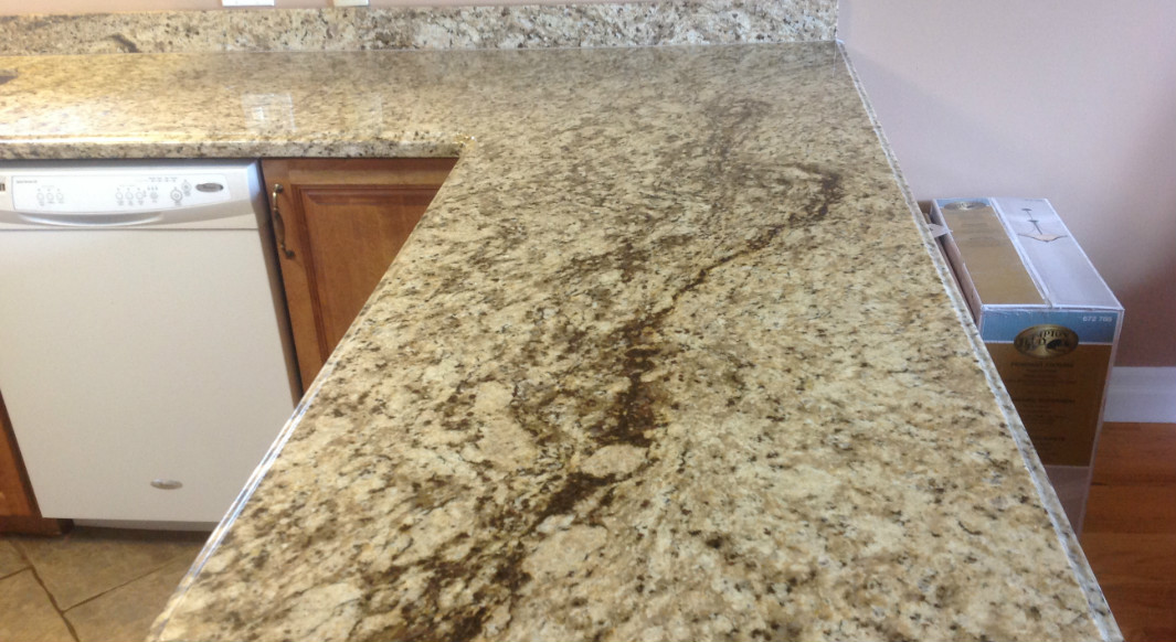 Giallo Ornamental with Ogee Edge Profile
