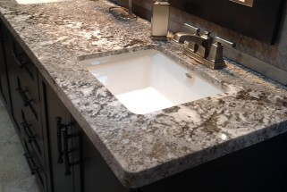 Bianco Antico Granite - Flat Eased Edge Profile