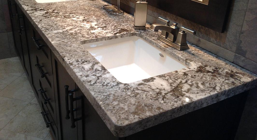Bianco Antico Granite - Flat Eased Edge Profile