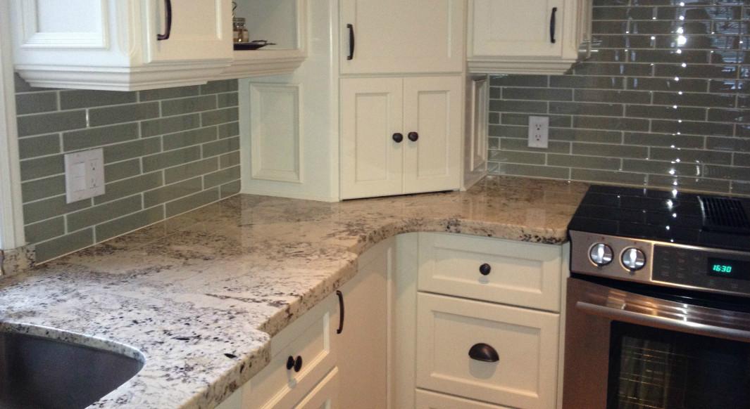 Arctic Cream Granite - Flat Eased Edge
