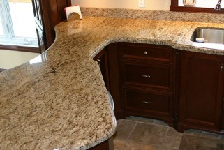 Giallo Ornamental Granite - Ogee Edge Profile