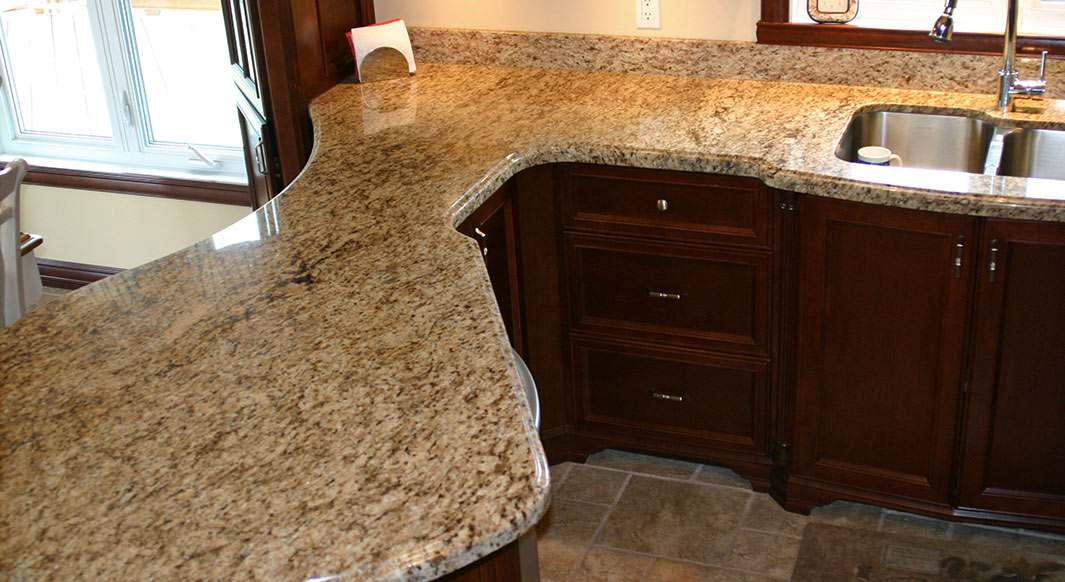 Giallo Ornamental Granite - Ogee Edge Profile