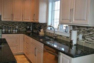 Suede Brown Granite - Ogee Edge Profile