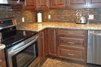 Giallo Napoli Granite - Ogee Edge Profile
