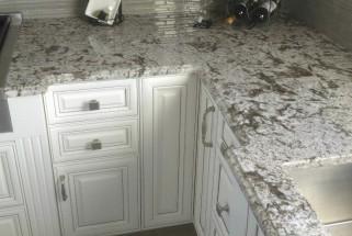 Bianco Antico Granite with Ogee Edge Profile