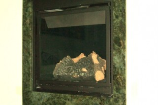 Labradorite Granite Fireplace Surround