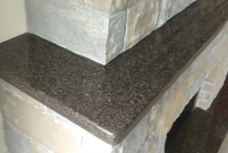 Cafe Imperial Granite with 3/8