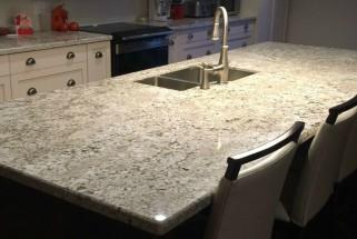 Bianca Crema Granite with Bevel Edge Profile