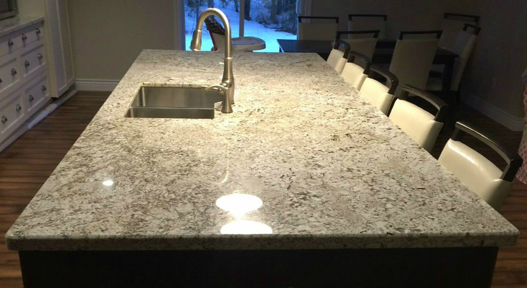 Bianca Crema Granite with Bevel Edge Profile