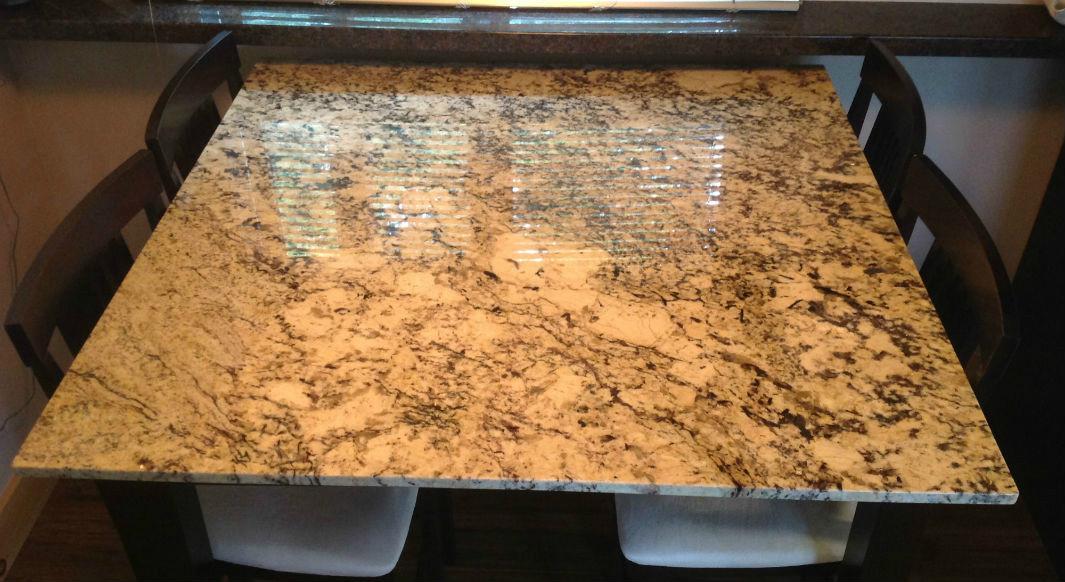 Colonial Treasure Granite Table Top Replacement
