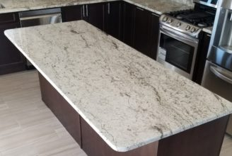 Alfredo Granite Countertop with Radius Edge Profile