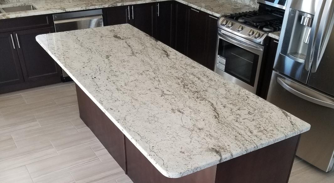 Alfredo Granite Countertop with Radius Edge Profile